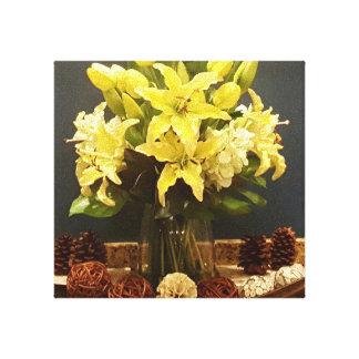 Toile d'or de fleur de YazieDior et de Co