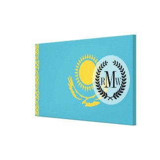 Toile Drapeau de Kazakhstan