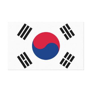 Toile Drapeau de la Corée du Sud