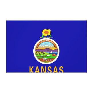 Toile Drapeau d'état du Kansas