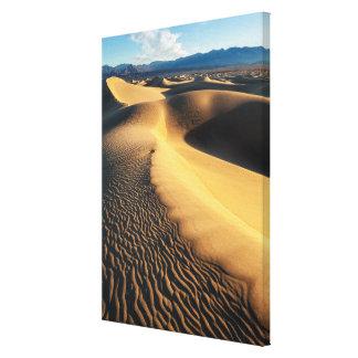 Toile Dunes de sable dans Death Valley, CA