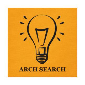 Toile Écran Arch Search