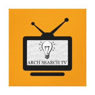 Toile Écran Arch Search TV