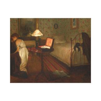 Toile Edgar Degas - intérieur