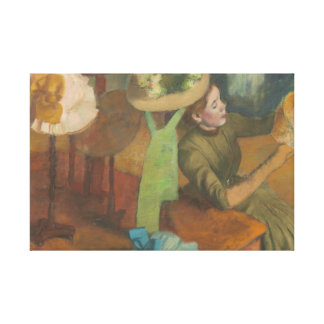 Toile Edgar Degas - le magasin d'articles de modes