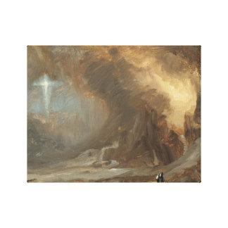 Toile Église de Frederic Edwin - vision de la croix