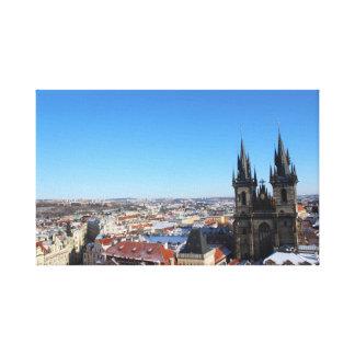 Toile Église de notre dame avant týn - Prague