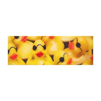 Toile en caoutchouc de Duckie