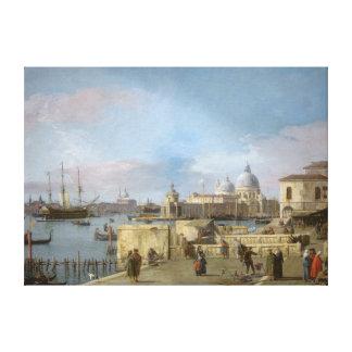 Toile Entrée au canal grand du Molo, Venise