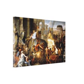 Toile Entrée d'Alexandre dans Babylone