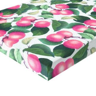 Toile enveloppée de fruit tropical
