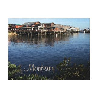 Toile enveloppée par Californie de Monterey