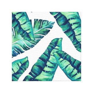 Toile enveloppée par charme tropical 12x12