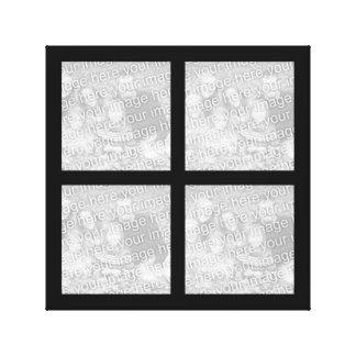Toile enveloppée par collage de photo toiles