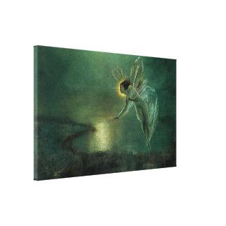 Toile Esprit de la nuit par Grimshaw, fée victorienne