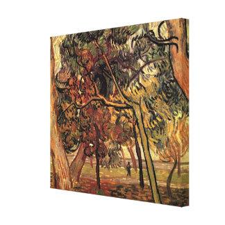 Toile Étude de Van Gogh de l'impressionisme de cru de