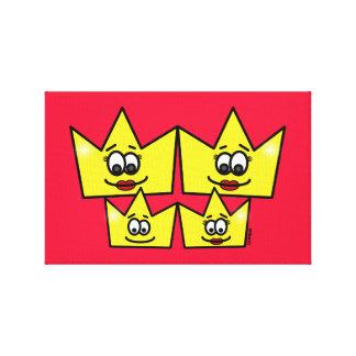 Toile Famille Homosexuel - Femmes - Reines - Canvas
