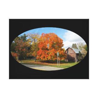 """Toile Ferme du Michigan, automne 2016 24"""" x 18"""", 1,5"""","""
