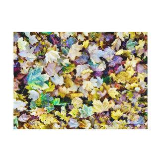 Toile Feuillage d'automne