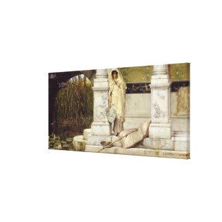 Toile Fille romaine d'Alma-Tadema   Fisher, 1873