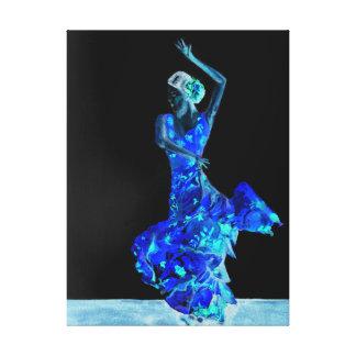 Toile Flamenco foncé