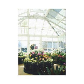 Toile Fleurs de Victoria