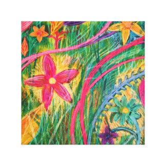 Toile Flowerburst #1