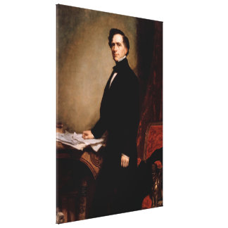 Toile FRANKLIN PIERCE par George Peter Alexandre Healy