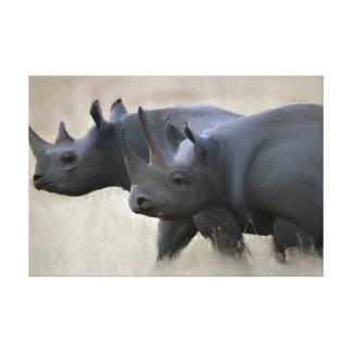Toile Frères originaux de rhinocéros