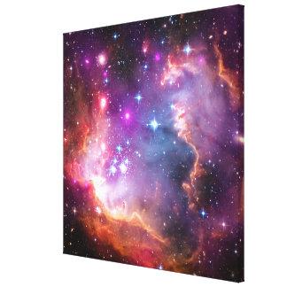 Toile Galaxie angélique de Falln