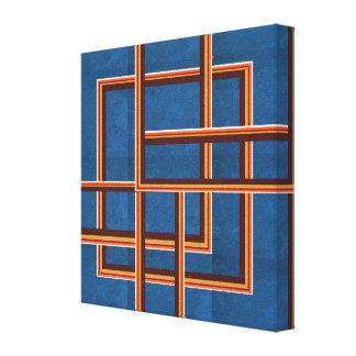 Toile Graphiques abstraits de NOVINO pour des couloirs