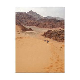 Toile HAUSSE sur les dunes