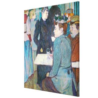 Toile Henri De Toulouse-Lautrec | Moulin de la Galette