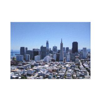 Toile Horizon de San Francisco