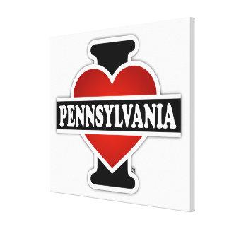 Toile I coeur Pennsylvanie