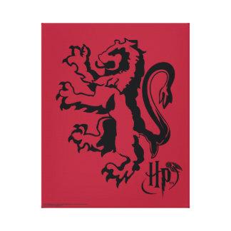 Toile Icône de lion de Harry Potter   Gryffindor