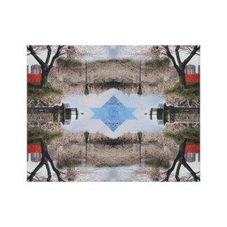 Toile Île de Roosevelt de photomontage