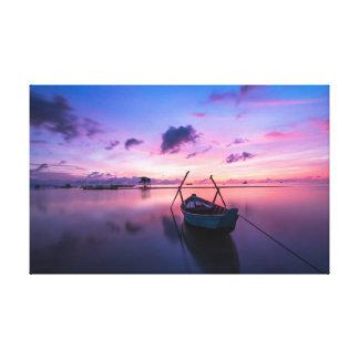 Toile Île du ciel | du petit bateau |