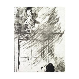 Toile Illustration de Manet | pour 'le Raven