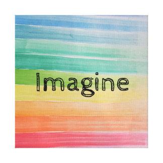 Toile Imaginez la copie