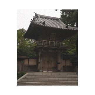 Toile japonaise d'entrée de jardin de thé de SF