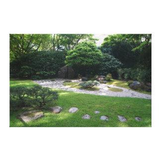 Toile japonaise du jardin #2 de zen de jardin de