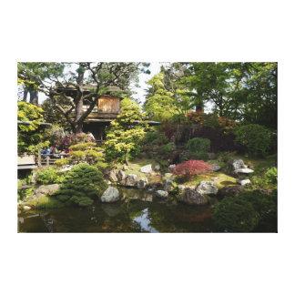 Toile japonaise du jardin de thé de San Francisco