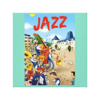 Toile jazz