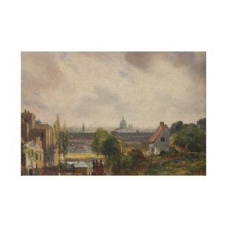 Toile John Constable - Cottage de monsieur Richard