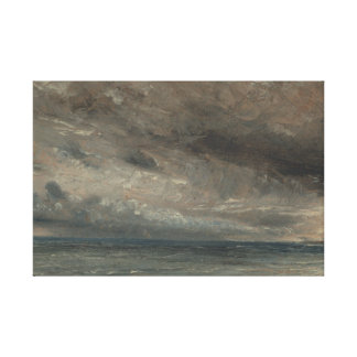 Toile John Constable - mer orageuse, Brighton