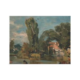 Toile John Constable - moulin de Flatford