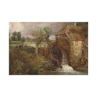 Toile John Constable - moulin de Parham, Gillingham
