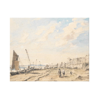 Toile John Constable - plage de Brighton semblant