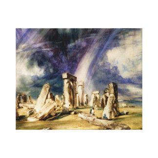 Toile John Constable - Stonehenge